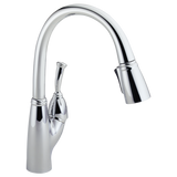 Delta Allora Single Handle Pull-Down Kitchen Faucet 989-DST Chrome