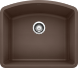 Blanco Silgranit Diamond - Undermount Kitchen Sink, Single Bowl - Cafe Brown / 440172
