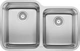Blanco Stellar 1-3/4 Bowl Stainless Steel Undermount Kitchen Sink - 441023