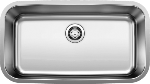 Blanco Stellar Super Single Bowl Stainless Steel Undermount Kitchen Sink - 441024