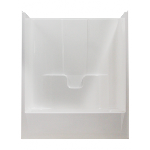 tub shower units one piece. Clarion RE7901 Acrylx Tub Shower Front View Bath  Tubs One Piece Tub Shower Units Central Plumbing And