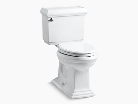 Kohler Memoirs Classic Two Piece Toilet Elongated Bowl K-3816-0 White