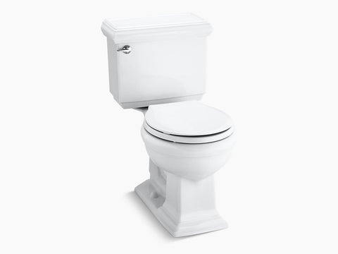 Kohler Memoirs Classic Two Piece Toilet Round Bowl K-3986-0 White