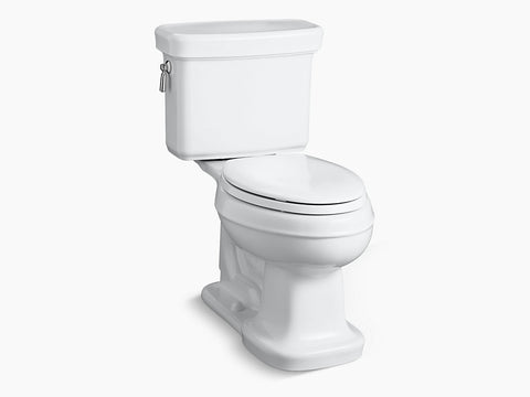 Kohler Bancroft Two Piece Toilet K-3827-0 White