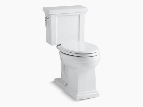 Kohler Tresham Two Piece Toilet Elongated Bowl K-3950-0 White