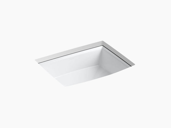 Kohler Archer Undermount Lavatory Sink K-2355-0 White