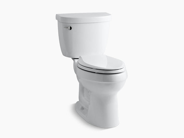 Kohler Cimarron Two Piece Toilet Elongated Bowl K-3609-0 White