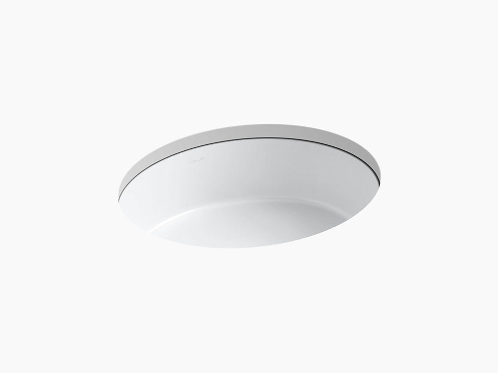 Kohler Verticyl Undermount Sink   Oval Bowl / K 2881 U2013 Central Plumbing And  Heating Supply Co., Inc.
