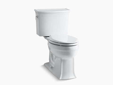Kohler Archer Two Piece Toilet K-3551-0 White