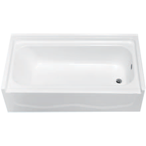 "Clarion 60"" Tub Only - RE4601L - WHITE"