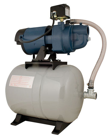Flint and Walling tank mounted pump package EK07SAT25H