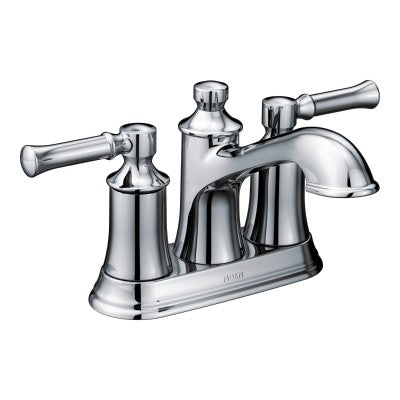 "Moen 6802 Dartmoor 4""cc lavatory faucet in polished chrome"