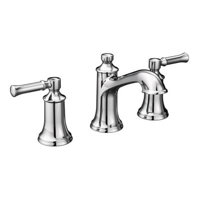 Moen T6805 Dartmoor widespread lavatory trim in polished chrome