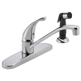 Peerless Single Handle Kitchen Faucet with Side Spray P115LF Chrome