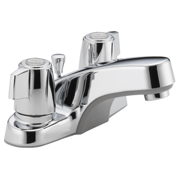 Peerless 4 inch Two-Handle Lavatory Faucet P246LF Chrome
