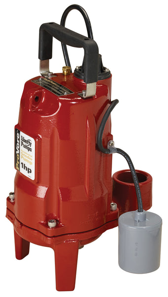 Liberty provoer 1 horsepower residential grinder pump model PRG101A