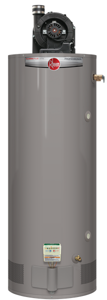 Rheem 75 gallon propane power vent heavy duty hot water heater