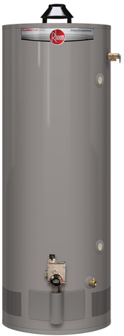 Rheem 75 gallon natural gas heavy duty hot water heater