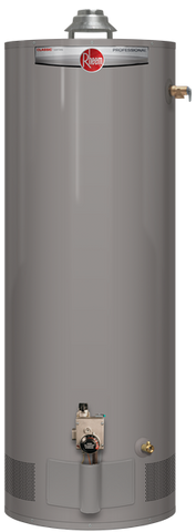 Rheem 40 gallon propane short hot water heater