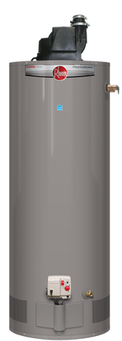 Rheem 40 gallon tall natural gas power vent hot water heater
