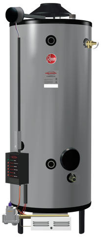 Rheem G75-125 Universal Heavy Duty Commercial Water Heater Front View