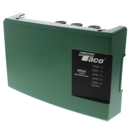 Taco four zone switching relay SR504