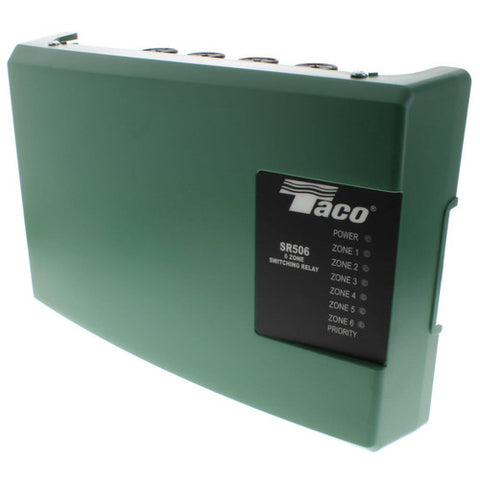 Taco six zone switching relay SR506