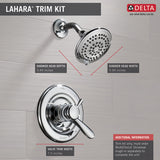 Delta Lahara Monitor 17 Series Shower Trim - T17238