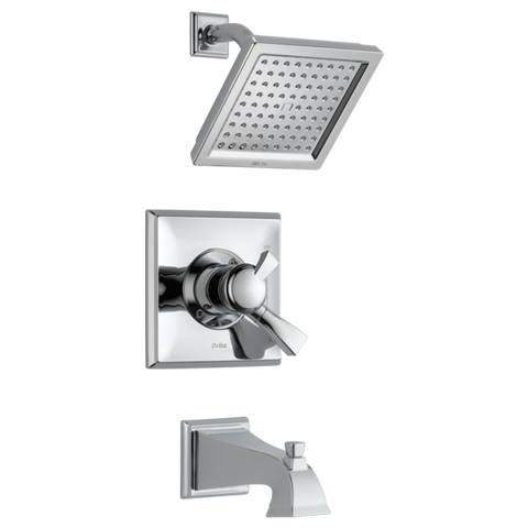 Delta Dryden Monitor 17 Series Tub and Shower Trim T17451 Chrome