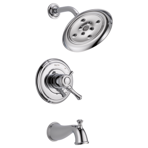 Delta Cassidy Monitor 17 Series Tub and Shower Trim T17497 Chrome