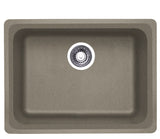 Blanco Silgranit Vision - Undermount Kitchen Sink, Single Bowl Truffle 441370