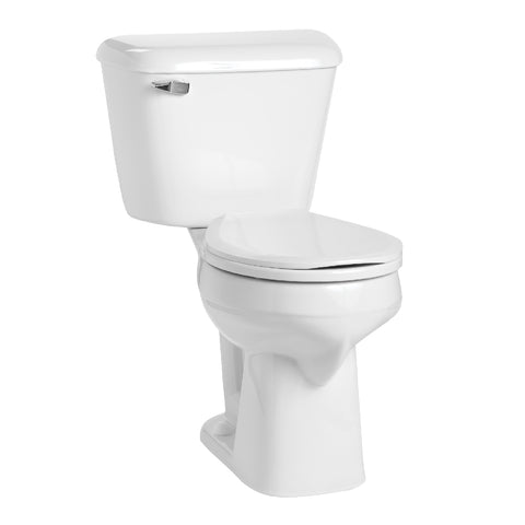 "Mansfield Alto SmartHeight Round Bowl Toilet - 12"" Rough-In - 117-160"