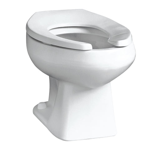 Mansfield Baltic Elongated Toilet with Top Spud - 1311NS