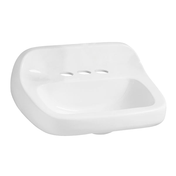 Mansfield Grande Isle Wall-Hung Sink - 2018HBNS4