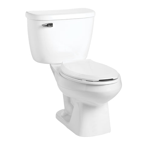 Mansfield Quantum Pressure Assisted Elongated Bowl Toilet - 147-123