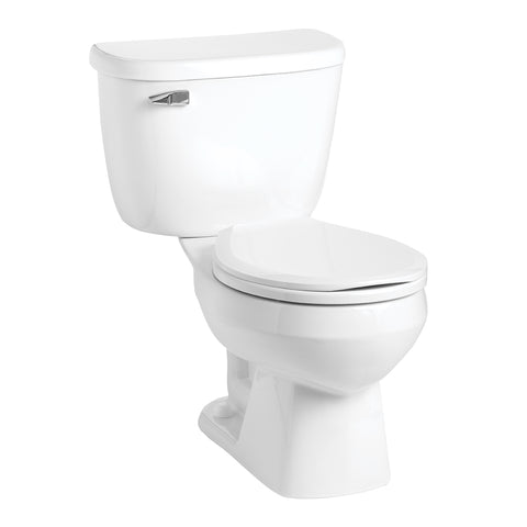 Mansfield Quantum Pressure Assisted Round Bowl Toilet - 146-123