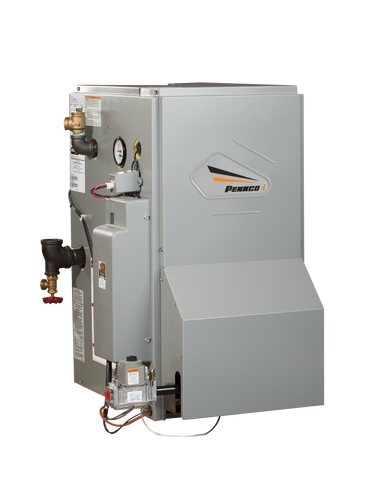 Pennco 15B Hot Water Boiler Left Quarter View