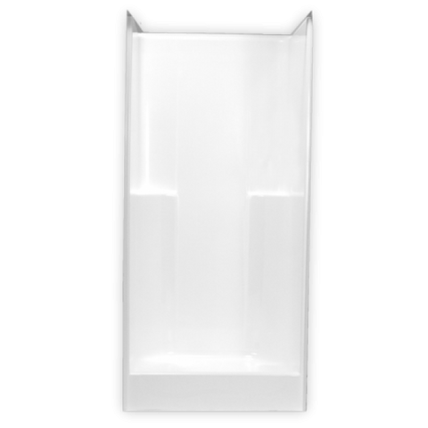 Clarion Fiberglass 36 inch Shower RE5636-WHT