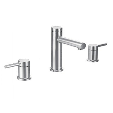 Moen Align Two-Handle Widespread High Arc Lavatory Faucet T6193 Chrome