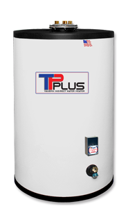 Vaughn 70 gallon indirect water heater top performer