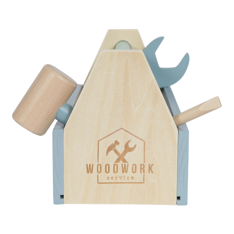 Wooden Tool Box Toy By Little Dutch 20 Pcs