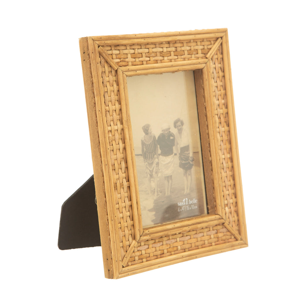 Natural Rattan Photo Frame - stoneandcoshop