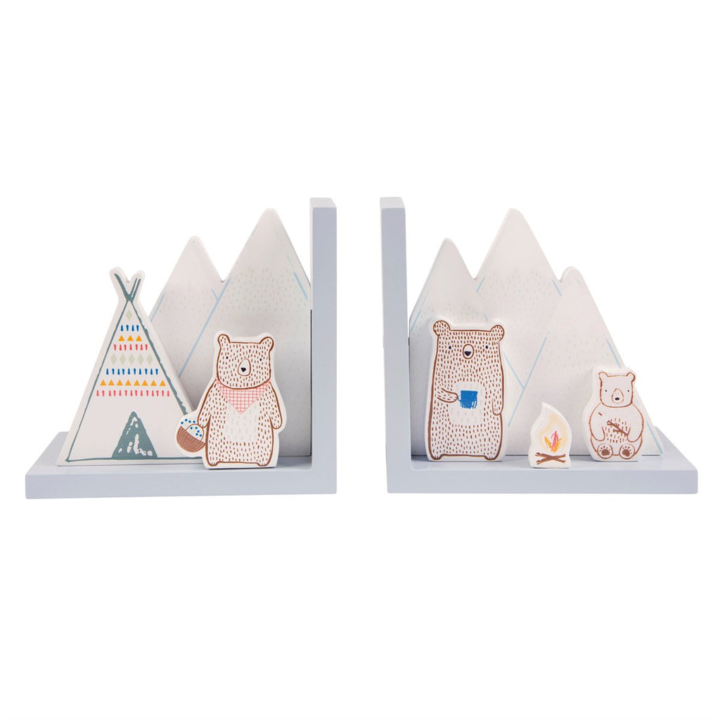 Adventure Bear Bookends - stoneandcoshop