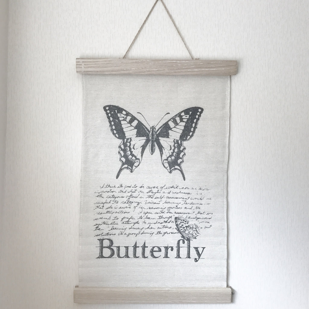 Butterfly and Dragonfly Wall Hangers Set Of 2 - stoneandcoshop