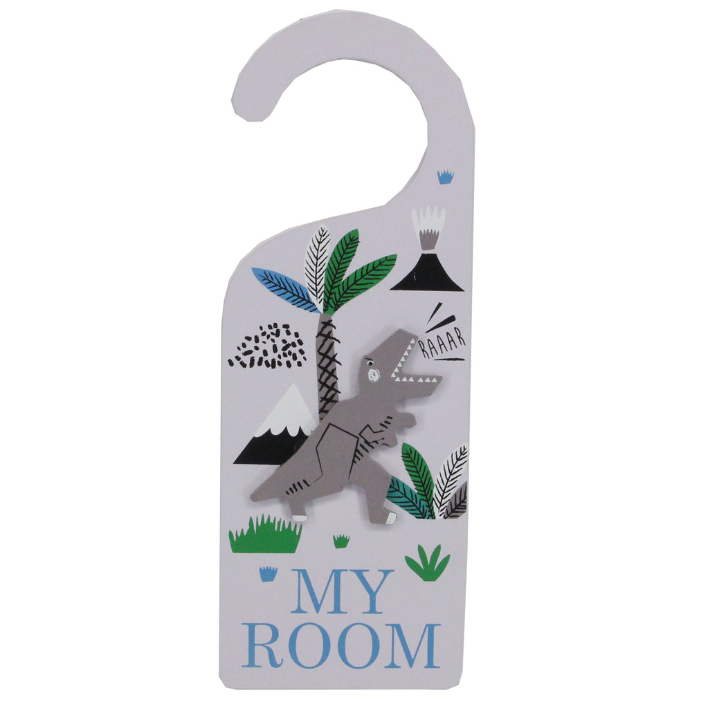 Dinosaur Door Hanger From Gisela And Graham - stoneandcoshop