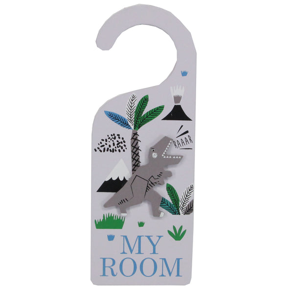 Dinosaur Door Hanger From Gisela And Graham - stoneandco