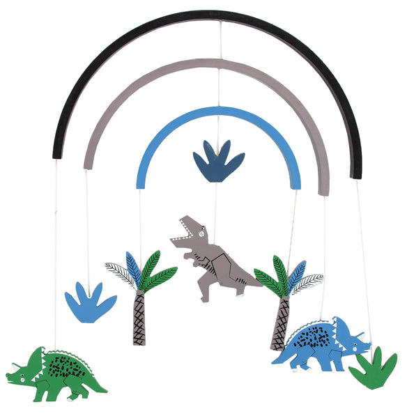 Dinosaur 3-D Mobile By Gisela And Graham - stoneandco