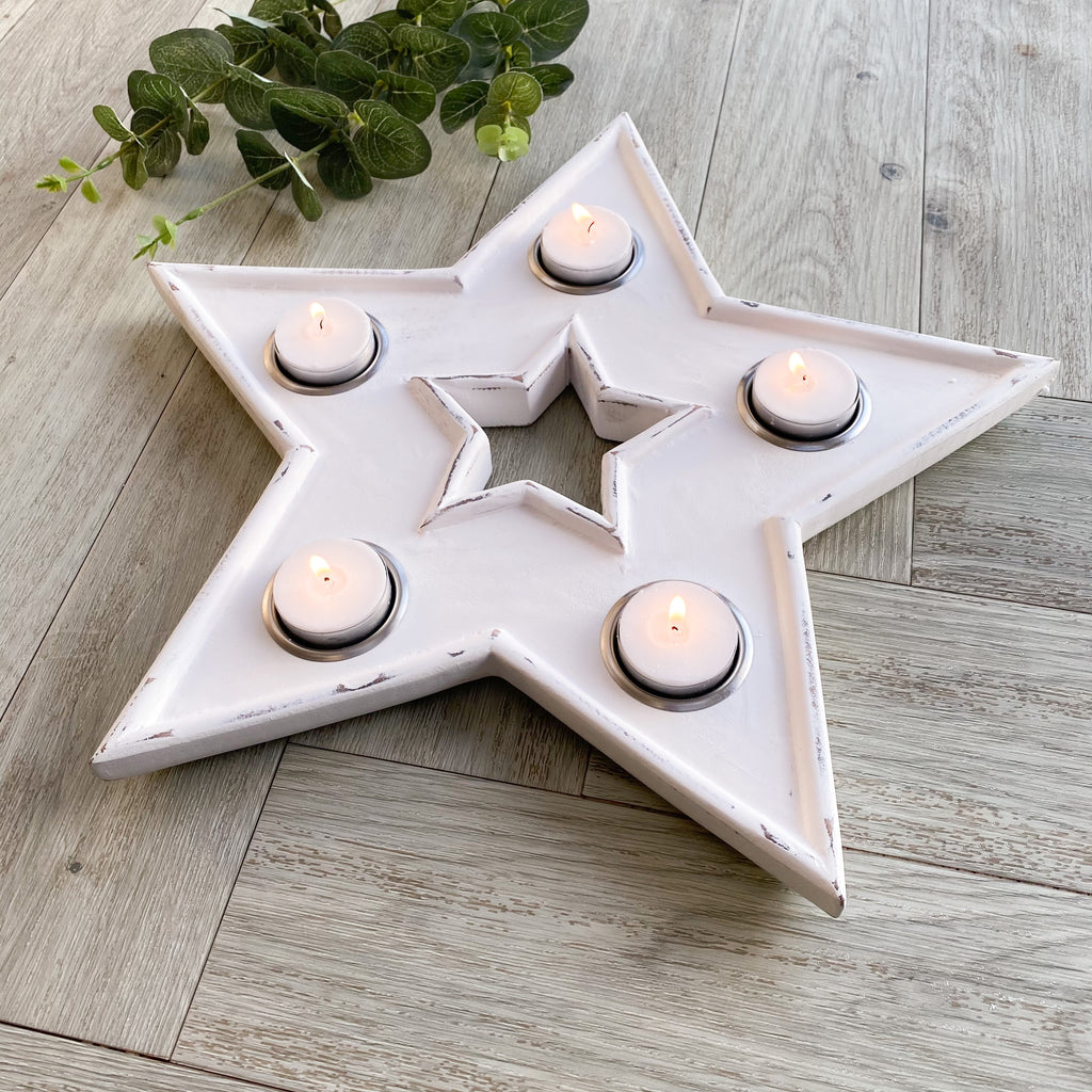 Star Multi Tea Light Holder