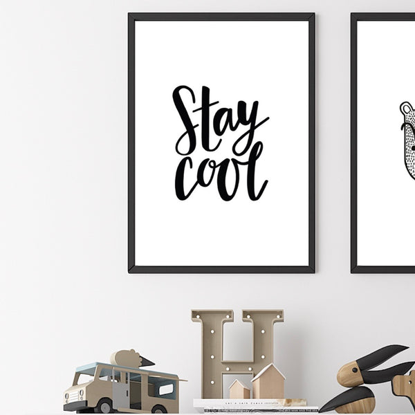 Stay Cool - A3 Print from Sadler Jones - stoneandcoshop