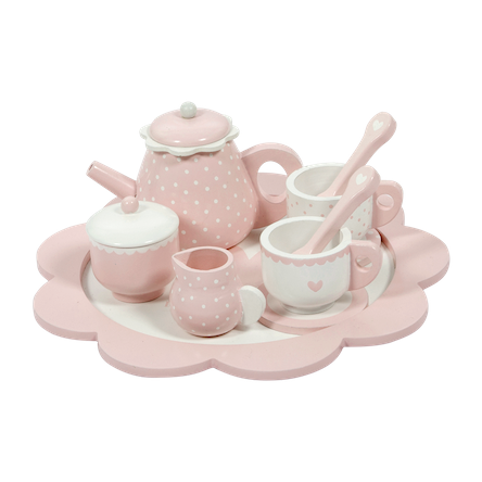 Wooden Tea Set By Little Dutch
